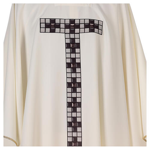 Chasuble with sublimation print T-shape 100% polyester 2