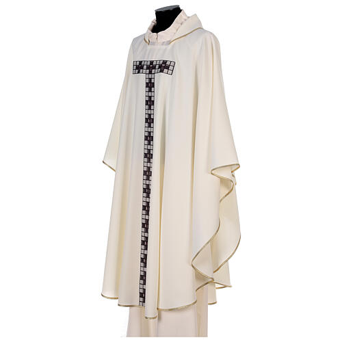 Chasuble with sublimation print T-shape 100% polyester 3