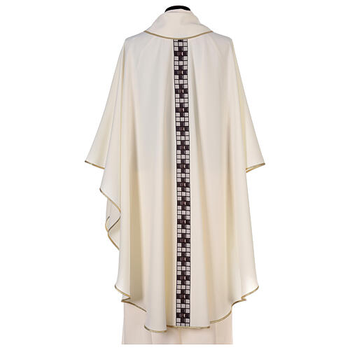 Chasuble with sublimation print T-shape 100% polyester 5