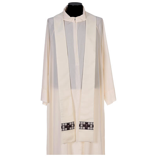 Chasuble with sublimation print T-shape 100% polyester 6