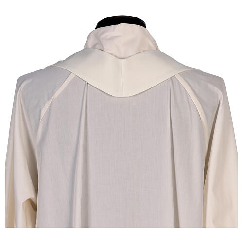 Chasuble with sublimation lilies V-neck print 100% polyester 8