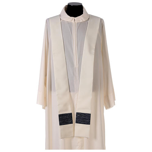Chasuble with sublimation print cross mosaic 100% polyester 5