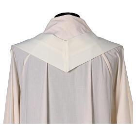 Gesticktes Messgewand mit Sankt Joseph aus 100% Polyester in liturgischen Farben s8