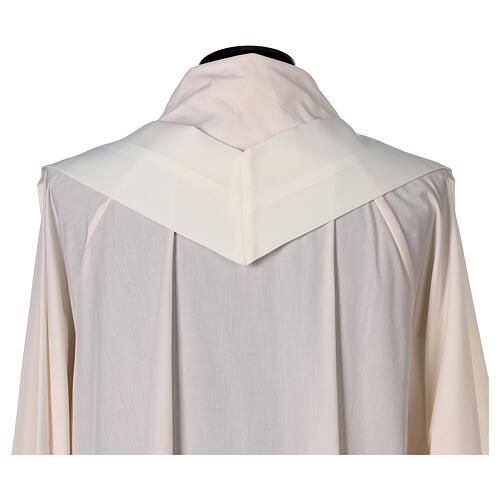 Gesticktes Messgewand mit Sankt Joseph aus 100% Polyester in liturgischen Farben 8