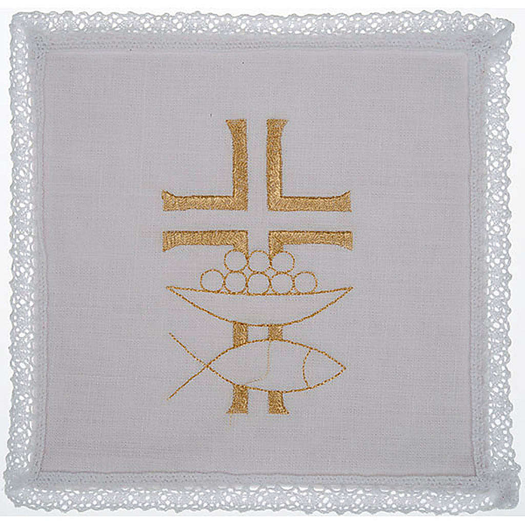 Mass linen set 4 pcs. loaves and fishes 4