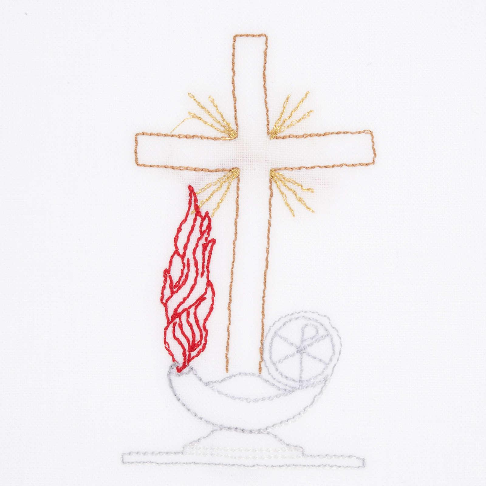 Servicio de altar con amito cruz lámpara 4