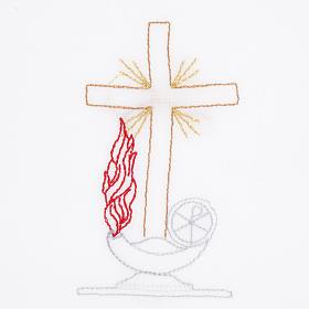 Servicio de altar con amito cruz lámpara s2
