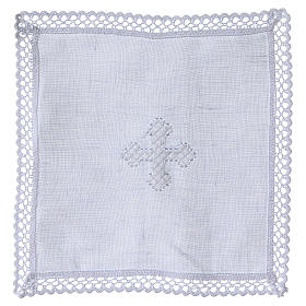 Altar linens with white cross s1