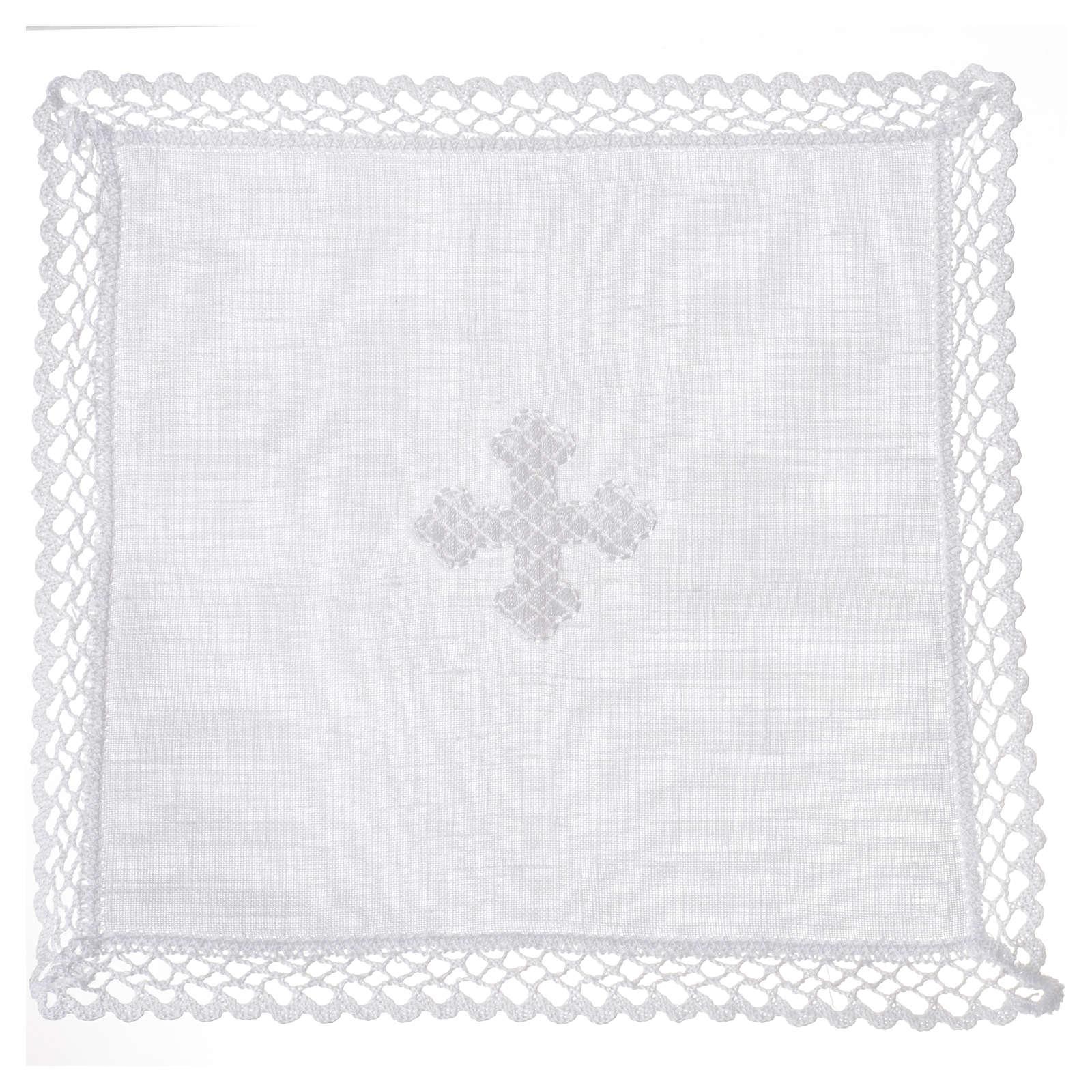 Servicio de altar cruz blanca 4