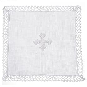 Servicio de altar cruz blanca s4