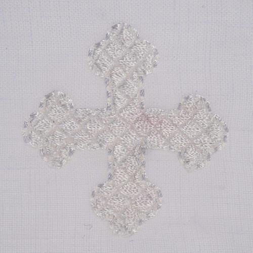 Servicio de altar cruz blanca 2