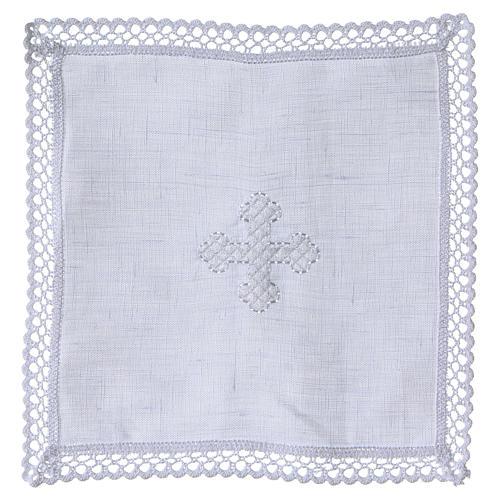 Servicio de altar cruz blanca 1