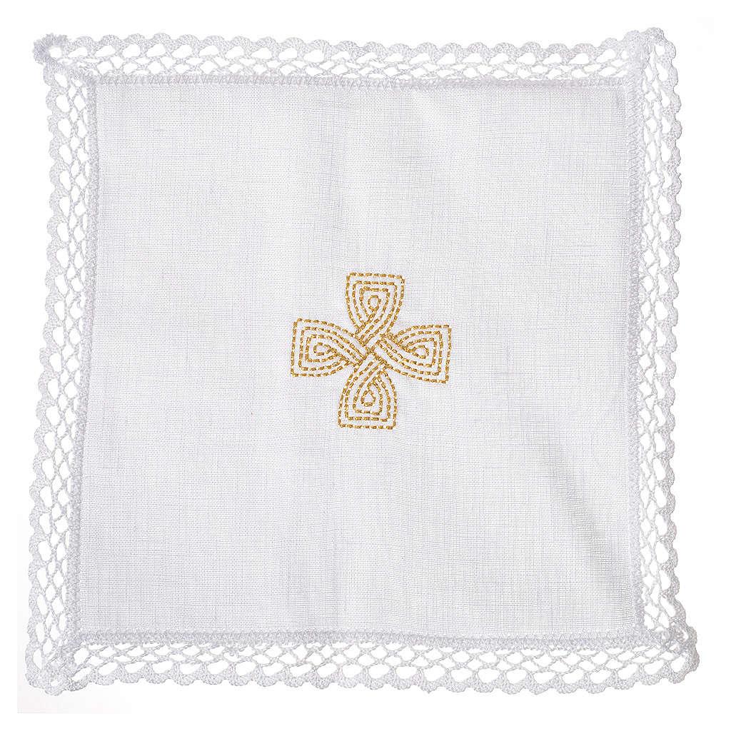 Servizio da altare croce dorata 4