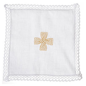 Servizio da altare croce dorata s3