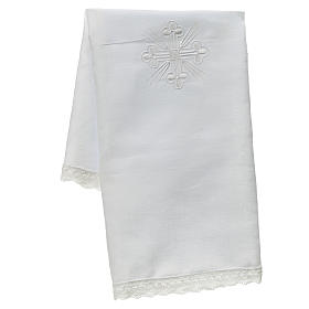 Altar linens, Corporal in linen and polyester s1
