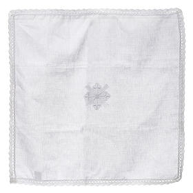 Altar linens, Corporal in linen and polyester s4