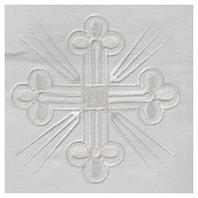 Altar linens, Corporal in linen and polyester s2