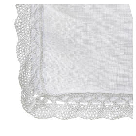 Altar linens, Corporal in linen and polyester s3