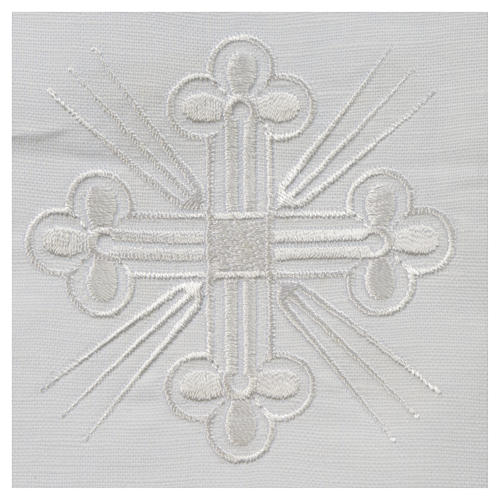 Altar linens, Corporal in linen and polyester 2