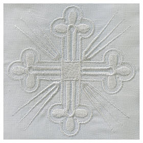 Altar linens, Purificator in linen and polyester s2