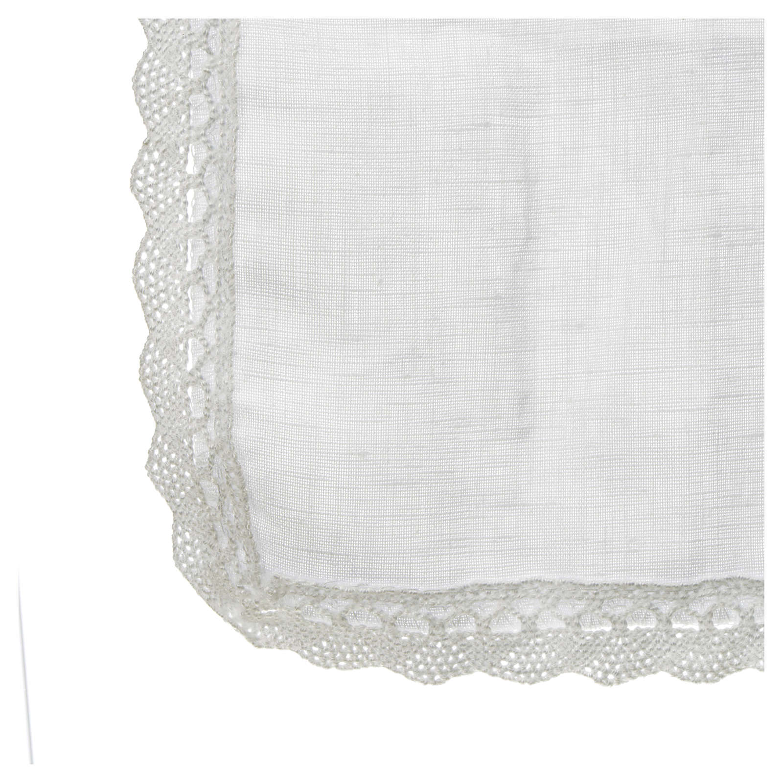 Altar linens, Manuterge in linen and polyester 4