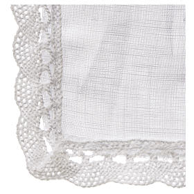 Altar linens, Pall in linen and polyester s3