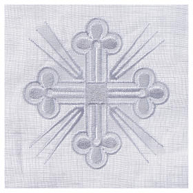 Altar linens, Pall in linen and polyester s2