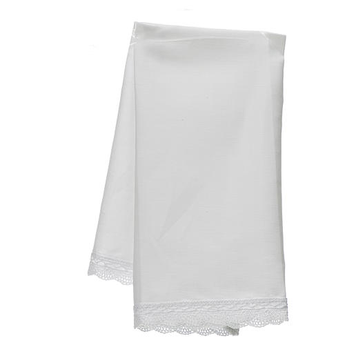 Altar linens, Manuterge in linen and cotton, 2 pieces 2