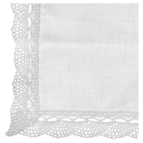 Conjunto de altar lino y algodón 2 piezas 3