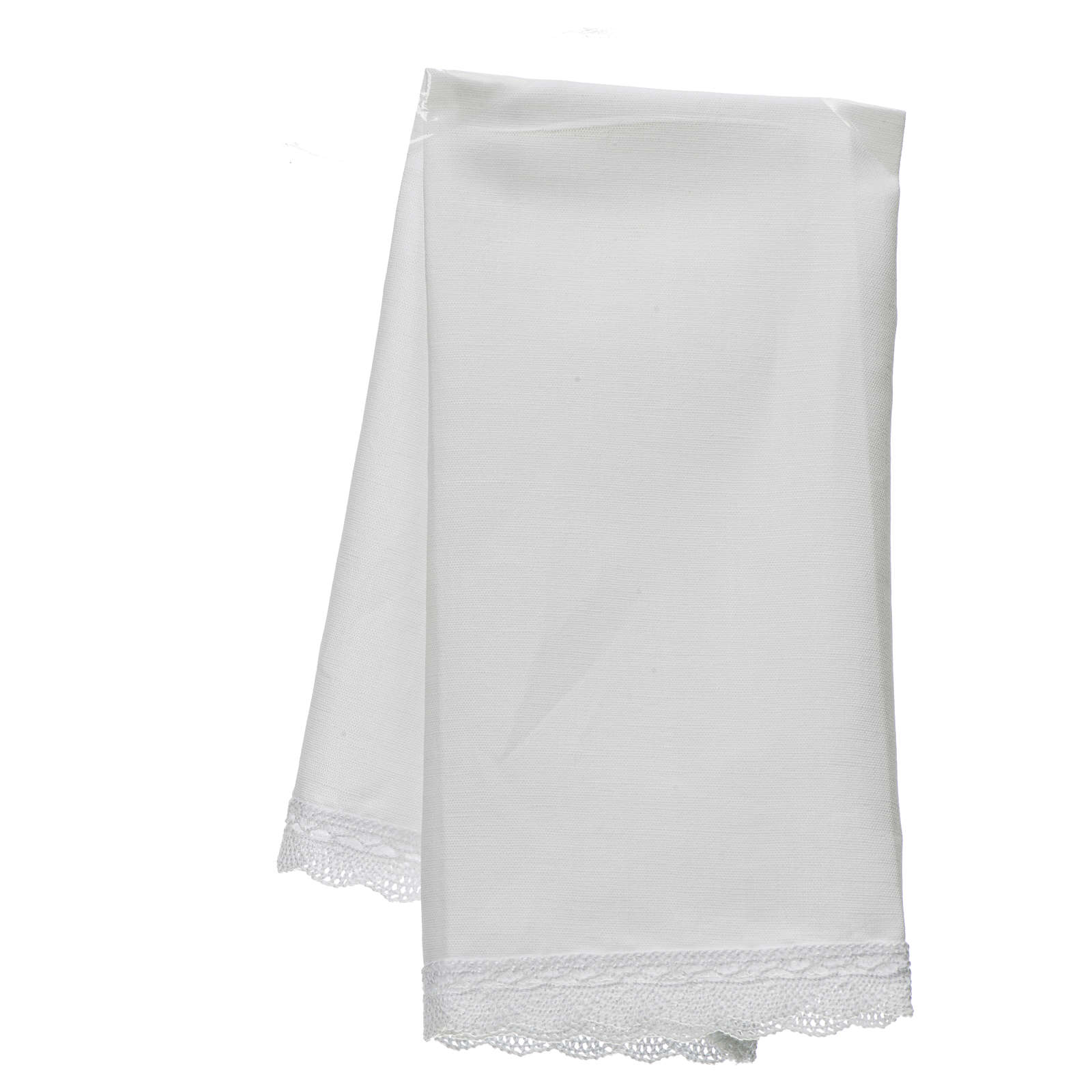 Altar linens, Manuterge in linen and cotton, 2 pieces 4