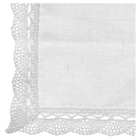 Altar linens, Manuterge in linen and cotton, 2 pieces s3