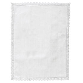 Altar linens, Manuterge in linen and cotton, 2 pieces s4