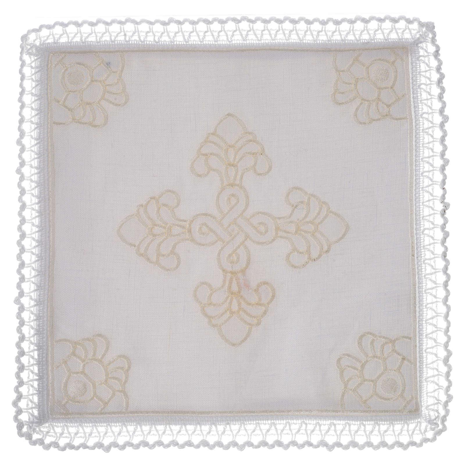 Servizio da altare lino e cotone con amitto 4