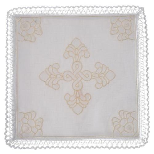 Servizio da altare lino e cotone con amitto 1