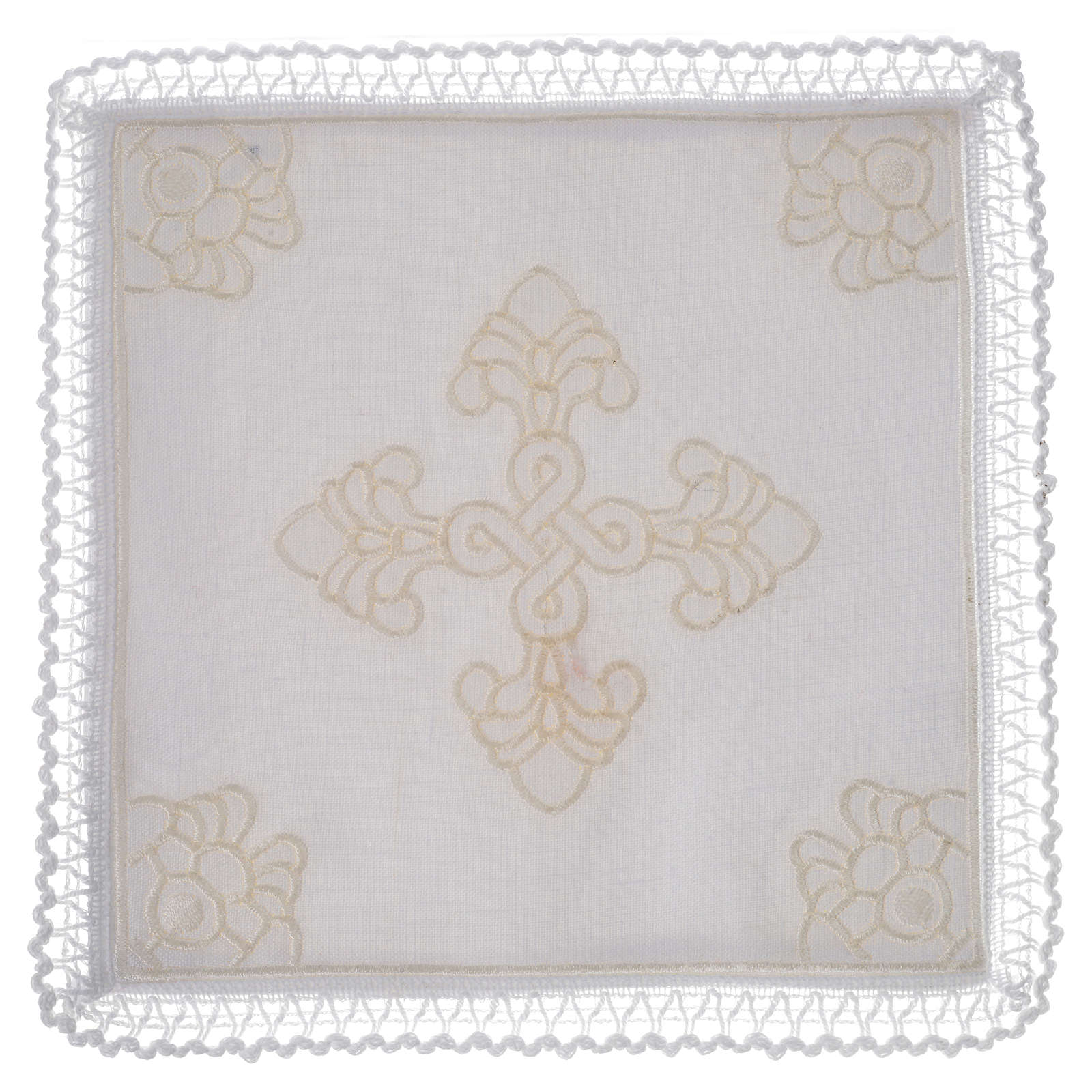 Altar linens, set of 5 in linen and cotton with amice 4