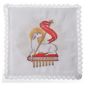 Lamb of God Altar Linen Set s1
