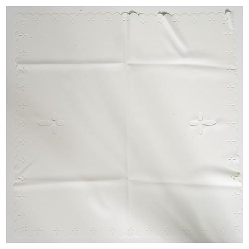 Cubre cáliz tejido cortado con láser 4