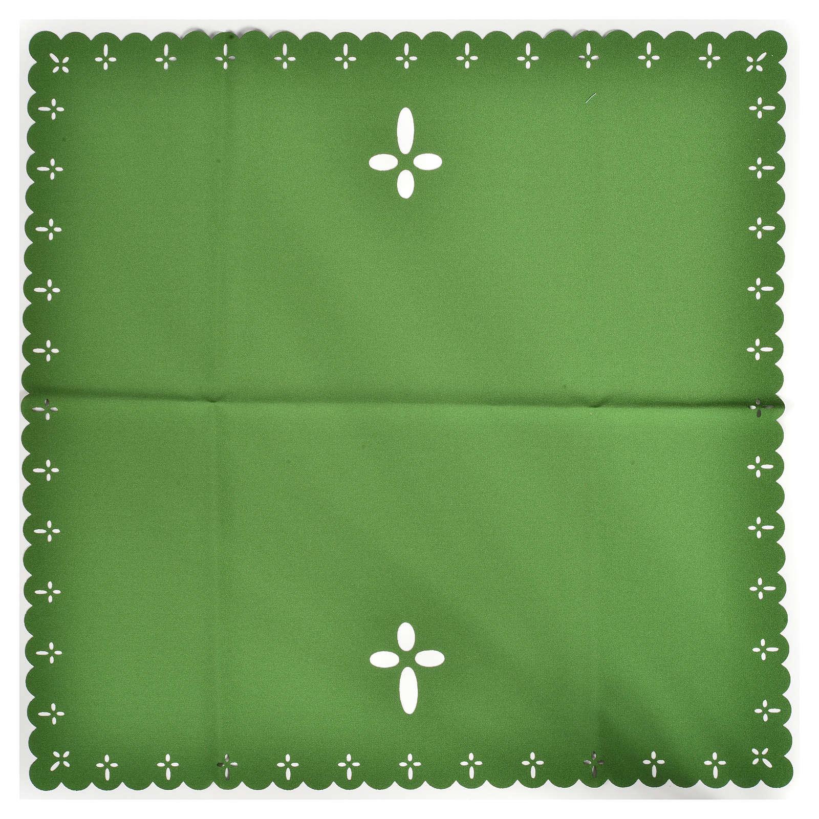Voile de calice tissu coupé au laser 4