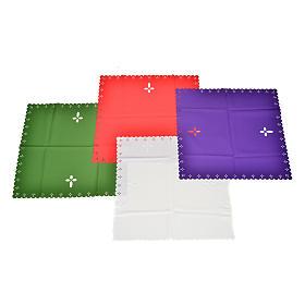 Linges d'autel: Voile de calice tissu coupé au laser