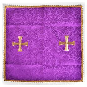 Welon nakrycie kielicha krzyż złoty s5