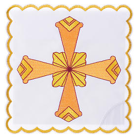 Servizio da altare croce gialla s1