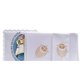 STOCK Conjunto litúrgico Jubileu da Misericórdia algodão s2