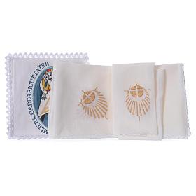 STOCK Juego de altar Jubileo de la Misericordia del Papa Francisco, con aplicación s2