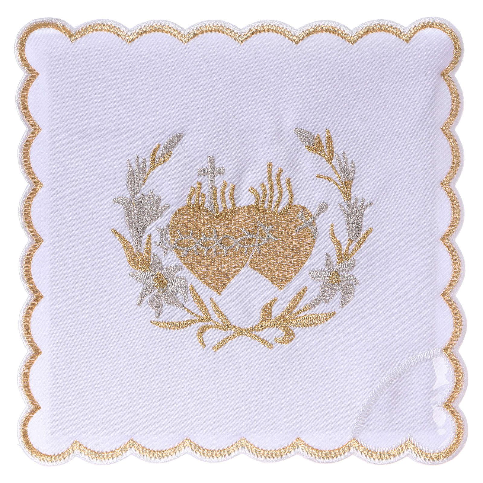 Servicio de altar algodón flores y Sagrado Corazón de Jesús 4