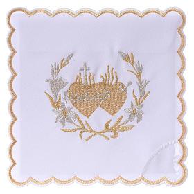 Conjuntos de Altar: Servicio de altar algodón flores y Sagrado Corazón de Jesús
