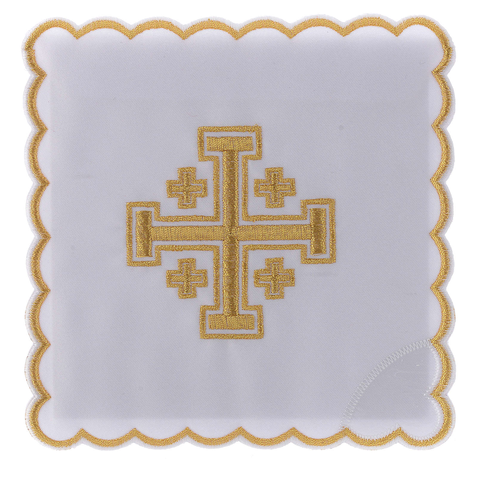 Juego de altar algodón Cruz de Jerusalén 4