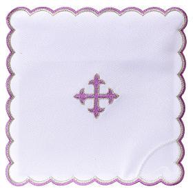 Kelchwäsche aus Baumwolle violetten Kreuz s1