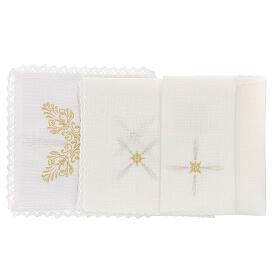Bielizna kielichowa len dekoracje kwieciste styl barokowy s2