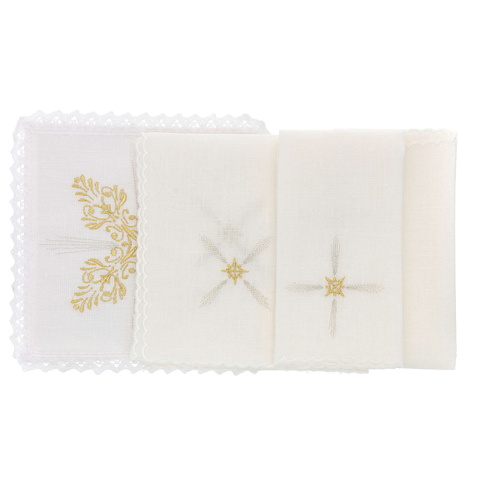 Altar cloths with flower decoration, Baroque style 4