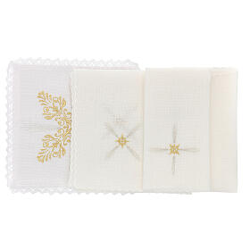 Altar cloths with flower decoration, Baroque style s2